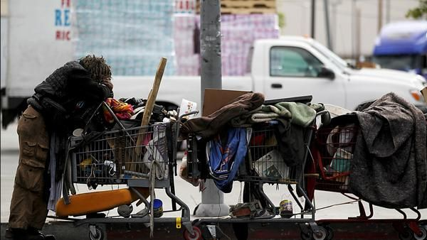 Homelessness Up 12 In L A City And County Homeless People Homeless Person Homeless