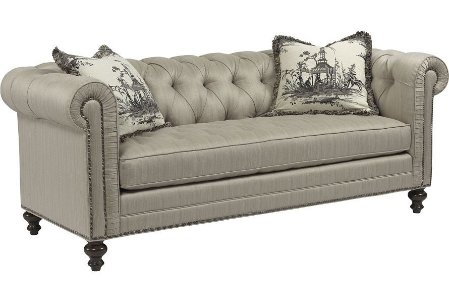 Delicieux Drexel Heritage Upholstery   Bennett Sofa (Dropped Fabric 70612 88)
