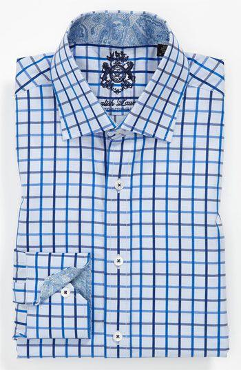 English Laundry Trim Fit Dress Shirt Nordstrom Shirt Dress Fitted Dress Shirts Shirts
