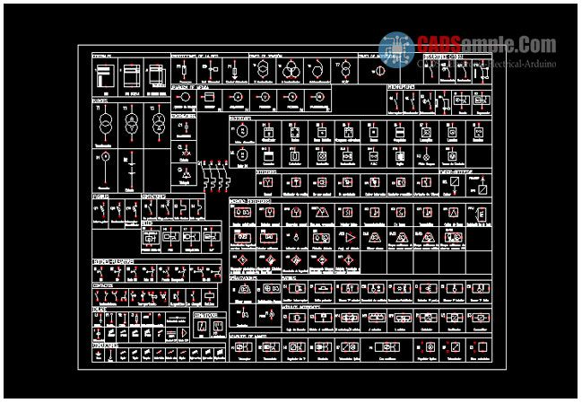 Image Result For Autocad Symbols For Electrical Circuits