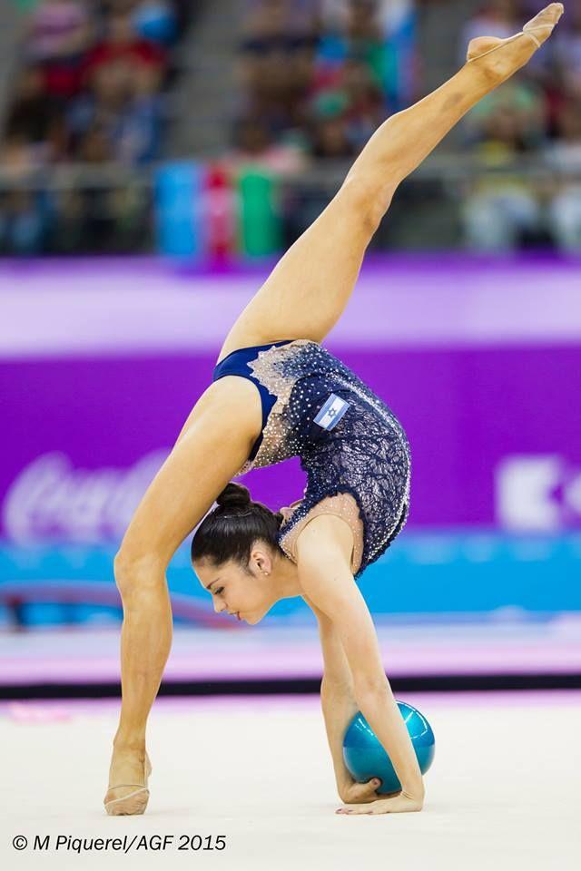 rhythmic gymnastics photos Viktoria Veinberg-Filnovski | gimnasia ...