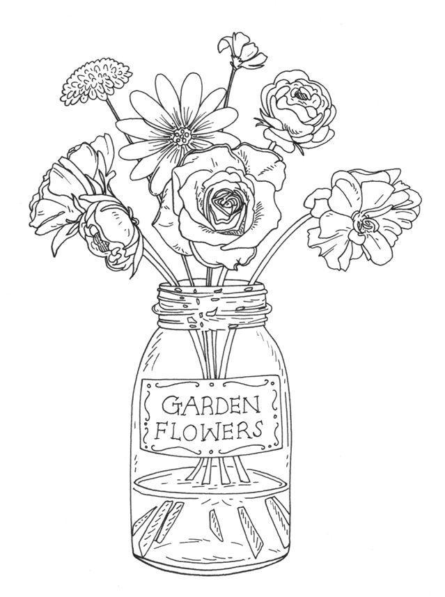 Flower Rubber Stamps Designs for Penny Black | Downloads ...