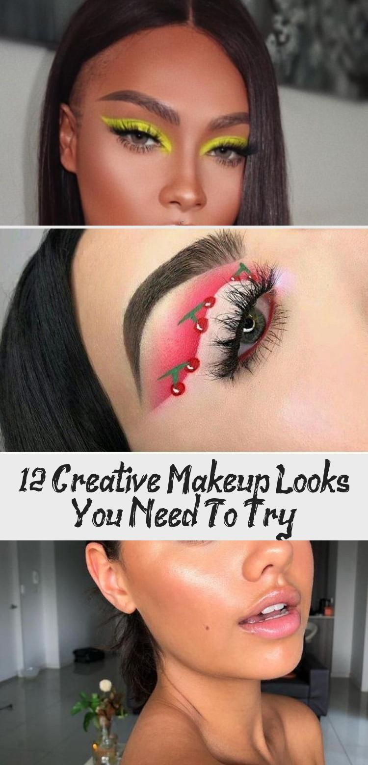 12 Creative Makeup Looks You Need To Try Society19