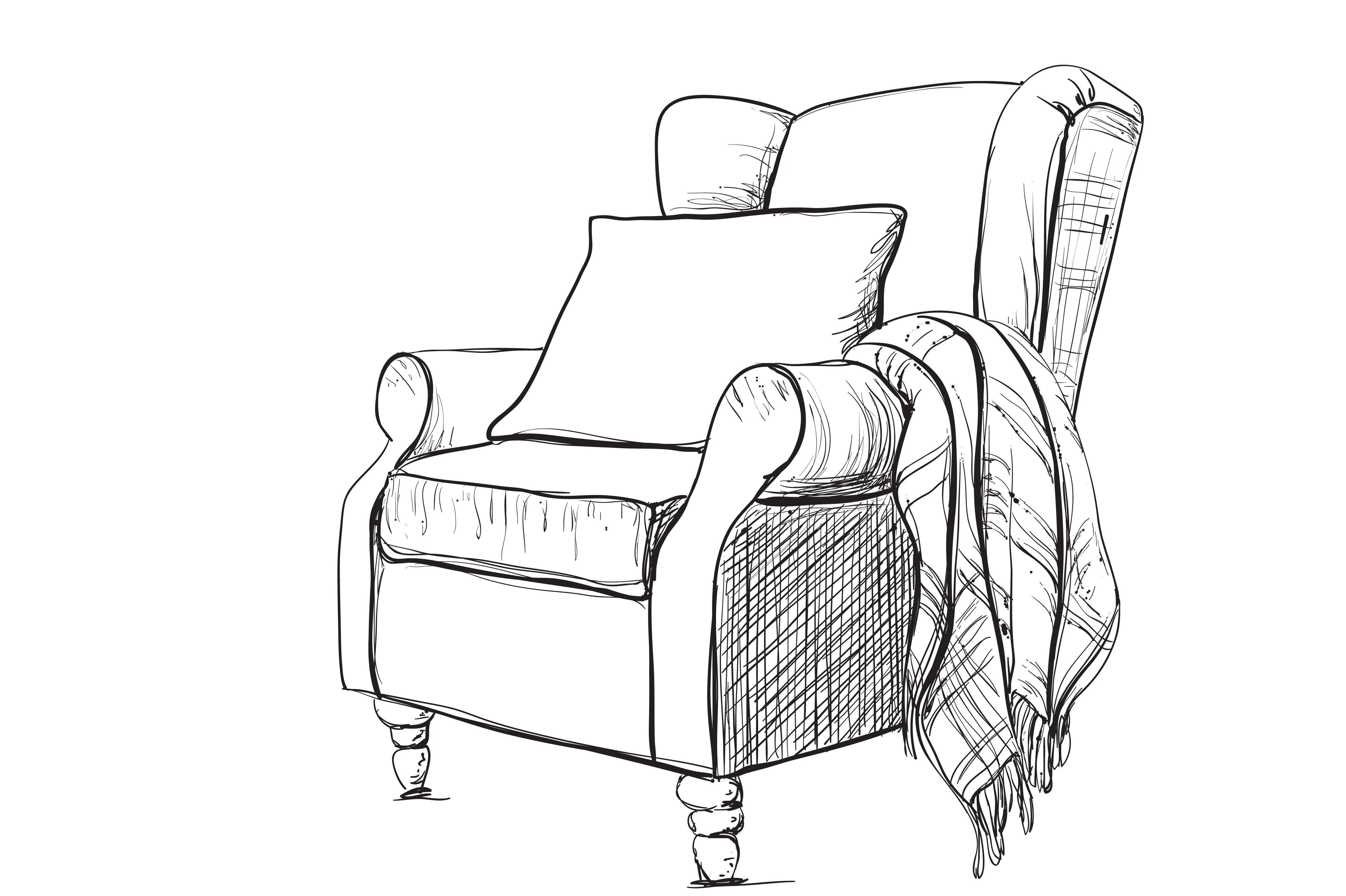 Web Design Armchair Drawing Armchair Drawing Armchair Top View High Back Armchair R In 2020 Interior Design Sketches Furniture Design Sketches Drawing Furniture