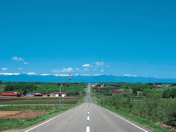 この絶景が見たい 北海道 帯広 まっすぐな道 北海道 景色 絶景 風景