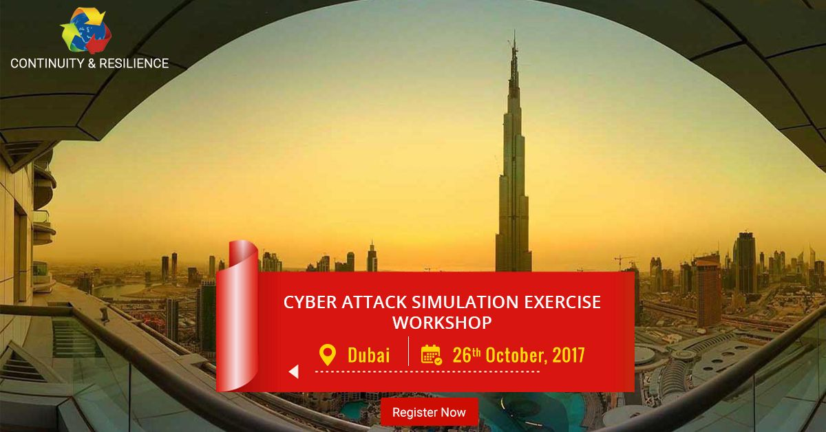 1 Day Cyber Attack Simulation Exercise Date 26 Oct, 2017
