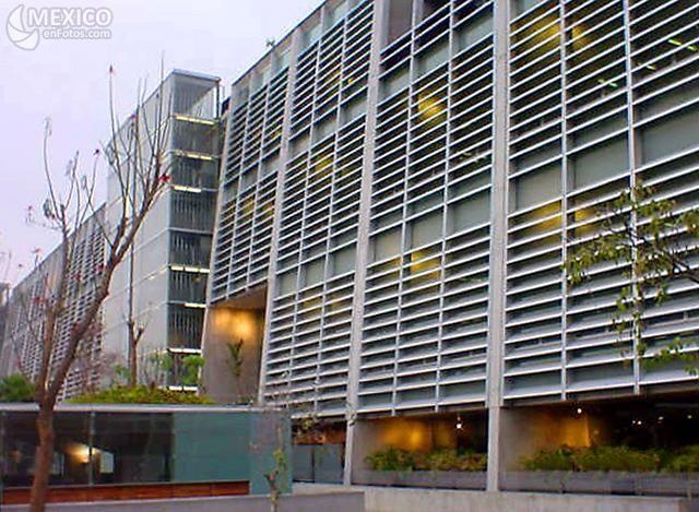 Vista Exterior De La Arquitectura Biblioteca Vasconcelos En La Ciudad De M Xico Es De