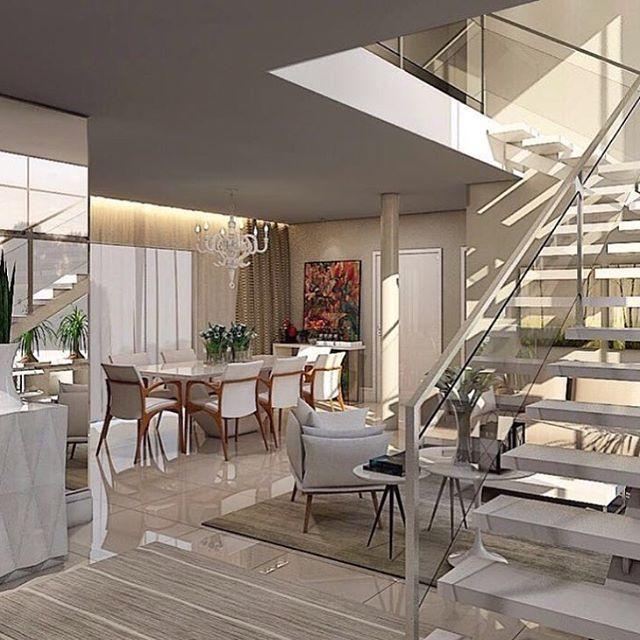 Espaços integrados by @germana_rabello. Amei❣@pontodecor {HI} Snap:  hi.homeidea  www.bloghomeidea.com.br #bloghomeidea #olioliteam #arquitetura #ambiente #archdecor #archdesign #hi #cozinha #kitchen #homestyle #home #homedecor #pontodecor #iphonesia #homedesign #photooftheday #love #interiordesign #interiores  #picoftheday #decoration #world #instagood  #lovedecor #architecture #archlovers #inspiration #project #regram #espacosintegrados