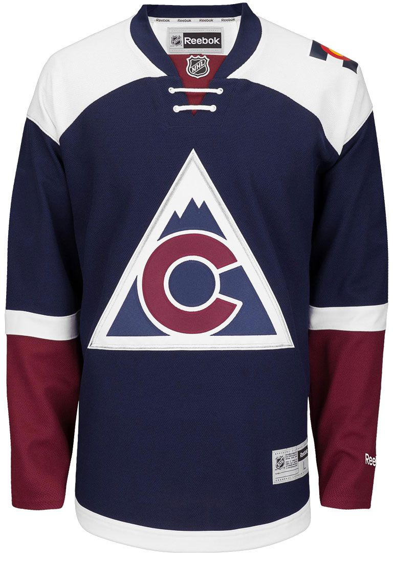 NEW Colorado Avalanche Official 2016 Third Reebok Premier Replica Adult NHL  Hockey Jersey cce05f883
