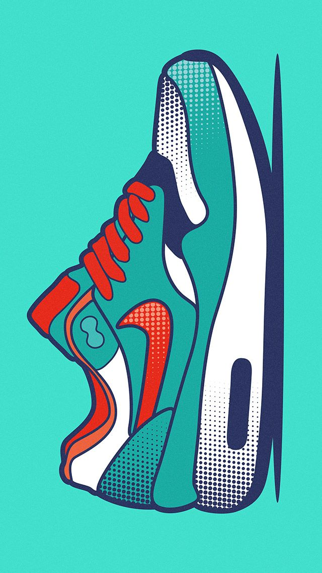 Tap And Get The Free App Art Creative Nike Air Max Just Do It Logo Sneakers Multicolor Hd Iphone Wallpaper Varones