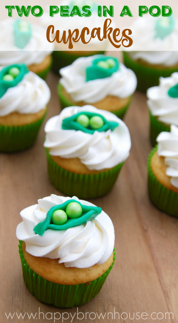 Two Peas In A Pod Cupcakes For Twins A Sweet For My Sweethearts