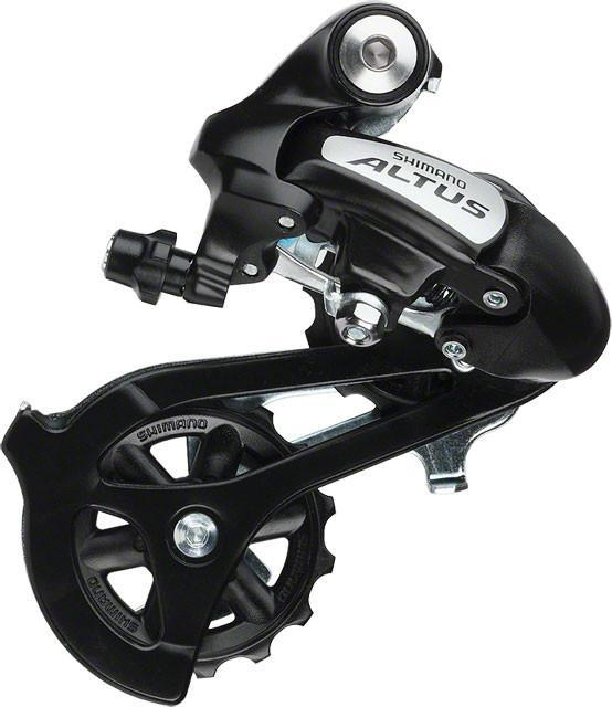SHIMANO Acera Bike Rear Derailleur RD-M360 7//8 Speed Top-Normal Long Cage Black