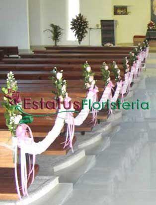 decorar iglesia para quinceanera decoracin floral en la iglesia el da de la boda