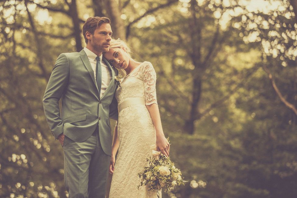 Unique And Stylish Vintage Style Wedding Photography
