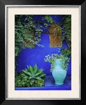 Majorelle Gardens, Marrakesh, Morocco, North Africa Photographic Print by Bruno Morandi at Art.com
