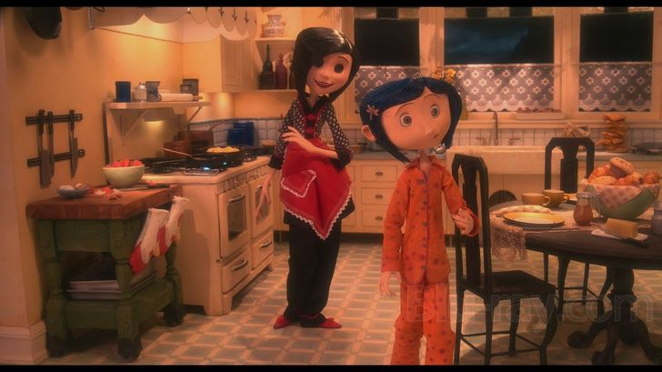 The Other Mother S Kitchen Coraline Other Mothers Animated Movies