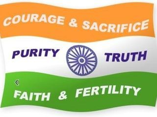 Indian Flag Meaning Of Colors Flag Color Meanings Bucket To Do