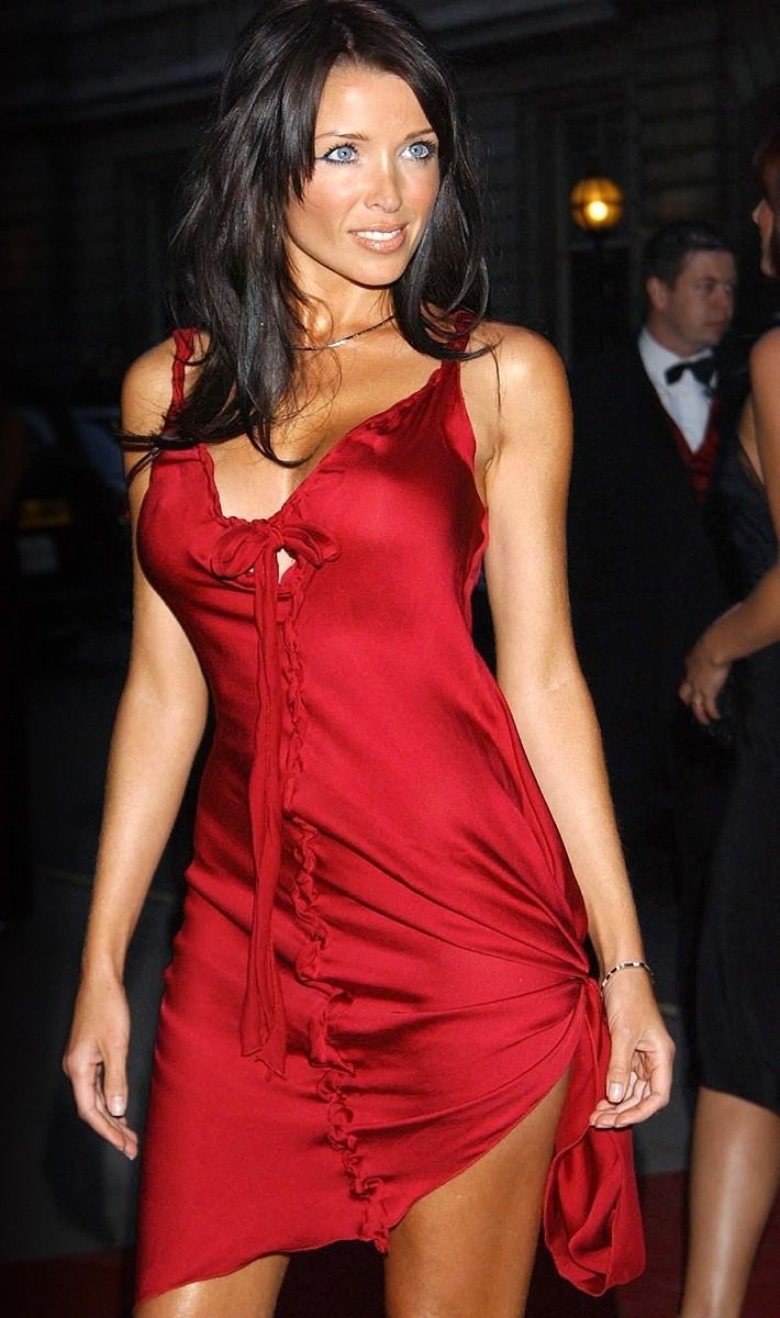 Dannii Minogue Red Dress Dannii Minogue Pinterest
