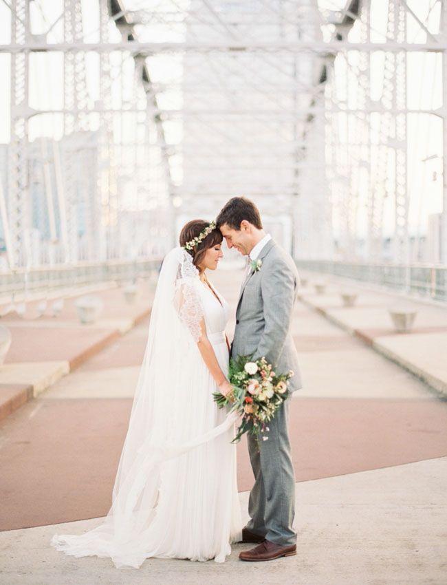 Organic, Industrial Nashville River Wedding: Paige + Jon Mark - http://www.decoratingo.com/organic-industrial-nashville-river-wedding-paige-jon-mark/ #WeddingIdeasAndDesign
