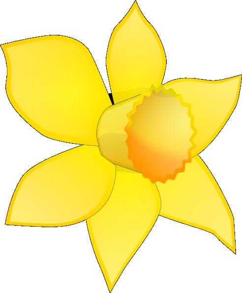Daffodil Flower Clip Art Daffodil Image Stripped Clip Art At Clker Com Daffodils Daffodil Images Clip Art