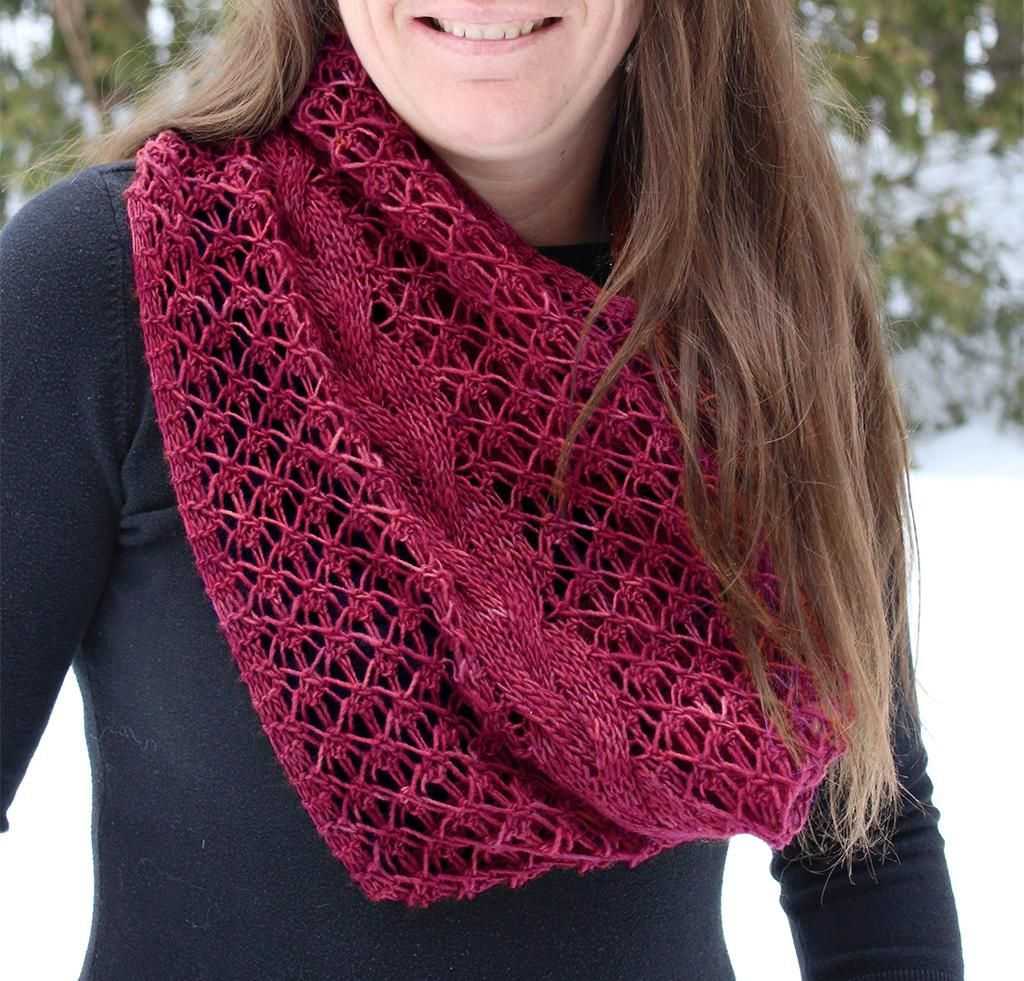 Rapunzel infinity scarf knitting kit rapunzel infinity and scarves rapunzel infinity scarf kit another knitting pattern that could be used as inspiration for hand woven bankloansurffo Choice Image
