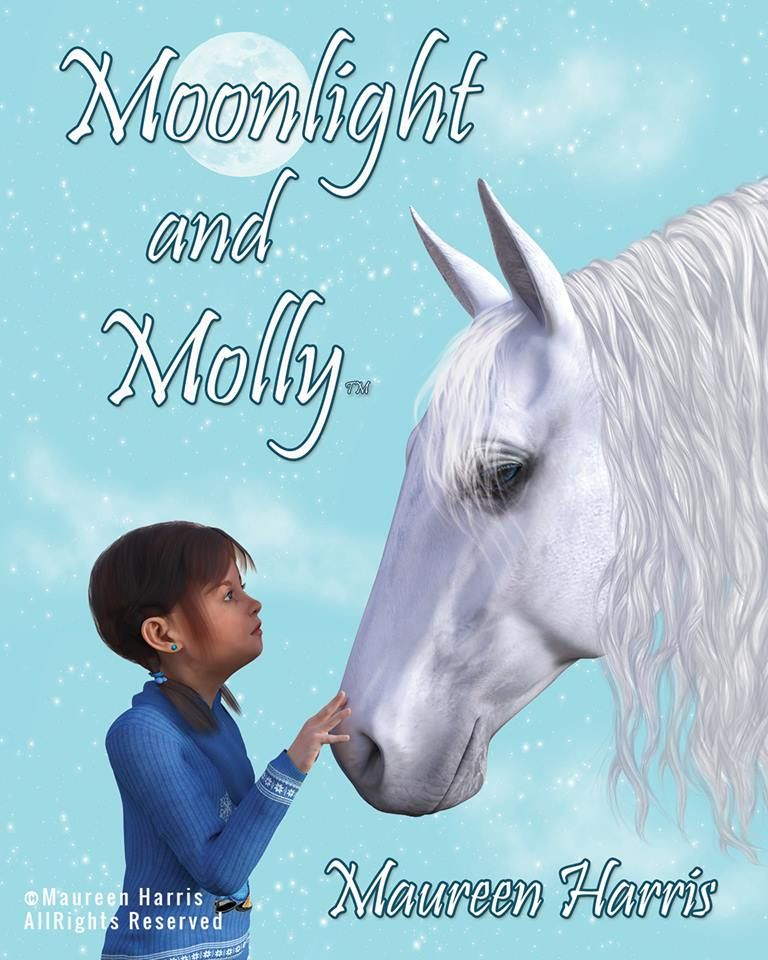 Moonlight and Molly™ Book 1 of the children's series by