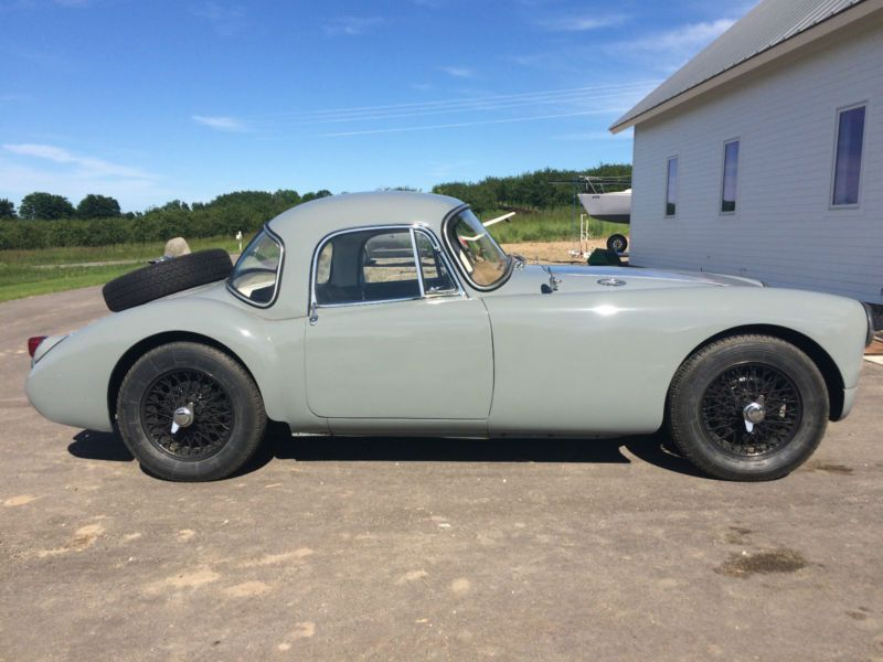 Event Capable 1957 MGA Fixed Head Coupe Update Mga