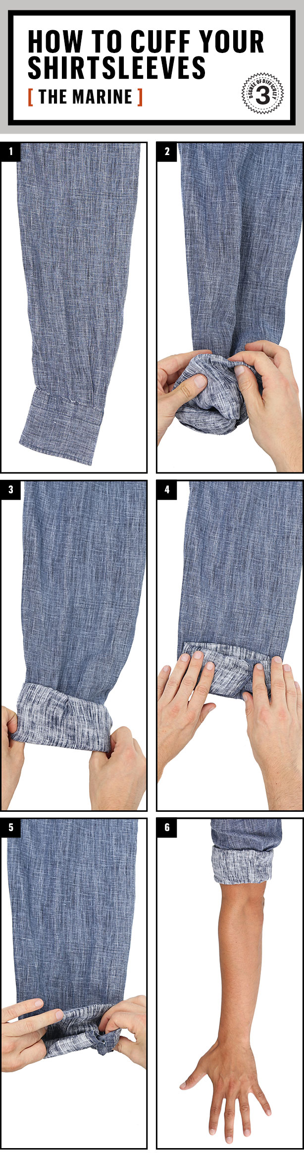 ac6b8025ba2 How to Roll Up Your Sleeves...Correctly
