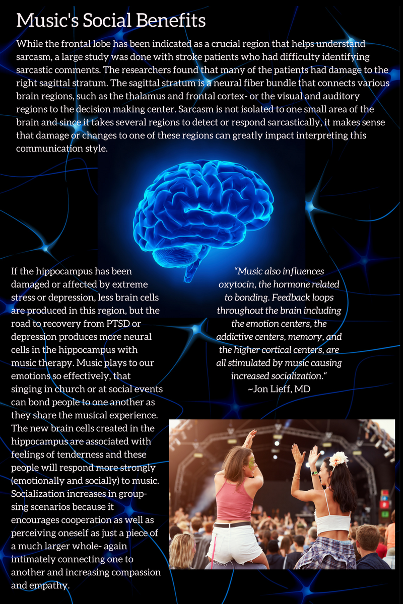 Social Brain Benefits of Music
