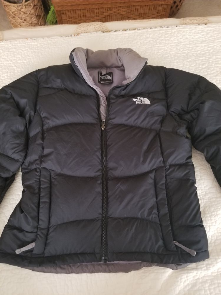 35d5493c9a THE NORTH FACE 550 Down Black Puffer Jacket Womens M  fashion  clothing   shoes  accessories  womensclothing  coatsjacketsvests (ebay link)