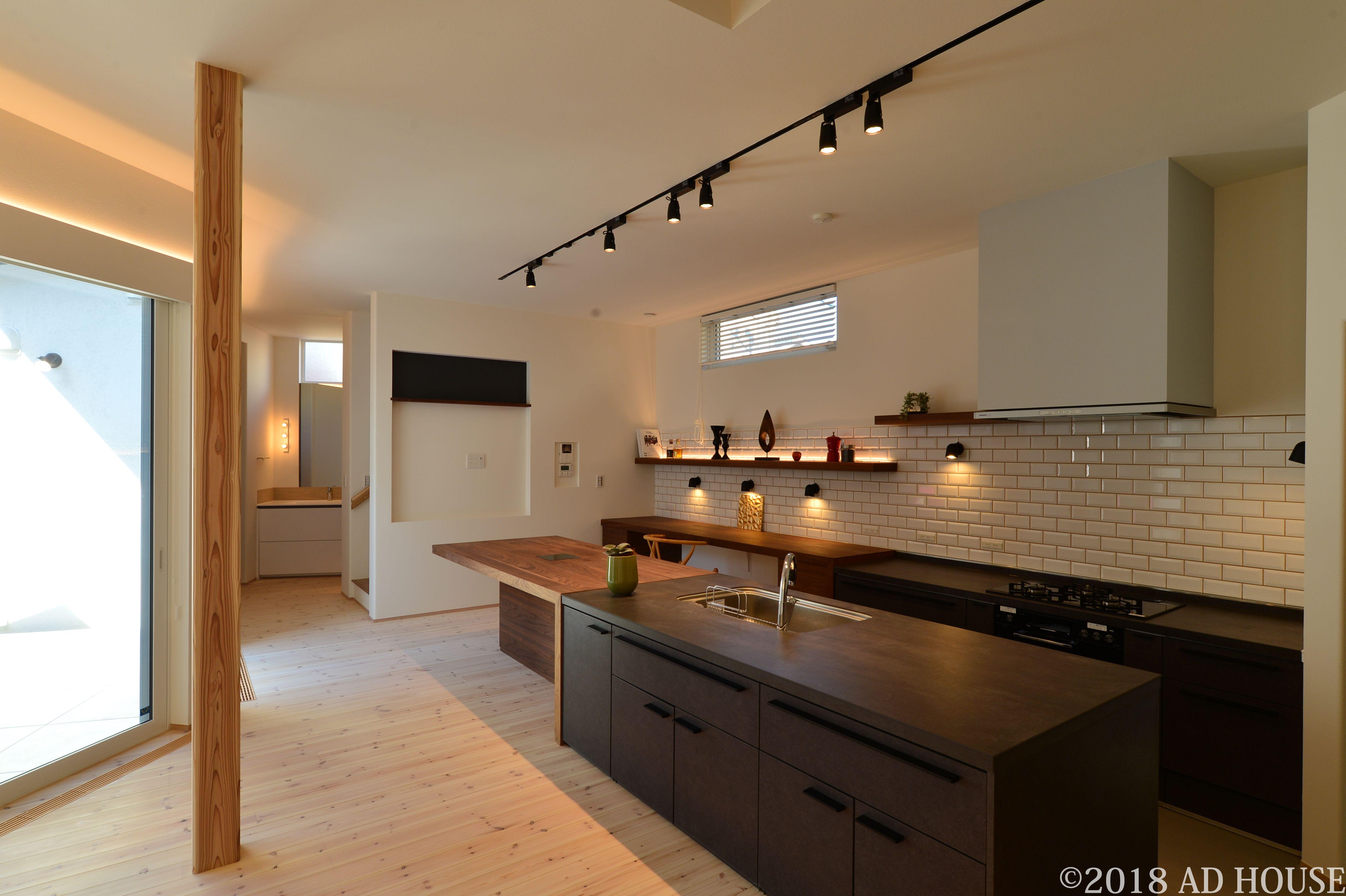 キッチンは Lixil リシェルを使用 セラミックトップのセパレート