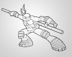 Some Tmnt Donnie Fan Art Drawn For My How To Draw Tmnt 2012 Video Series On Youtube Www Youtube Co Ninja Turtle Coloring Pages Drawing Reference Coloring Books