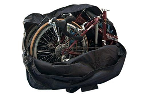 Winzik Supersize 24inch Folding Bicycle Bag Thickbike Carrier Bag Pouch Details Can Be Found By Clicking On The Im Folding Bike Bag Bike Bag Bicycle Travel
