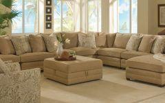 Unusual Large Sectional Sofas Ruang Keluarga Ruangan