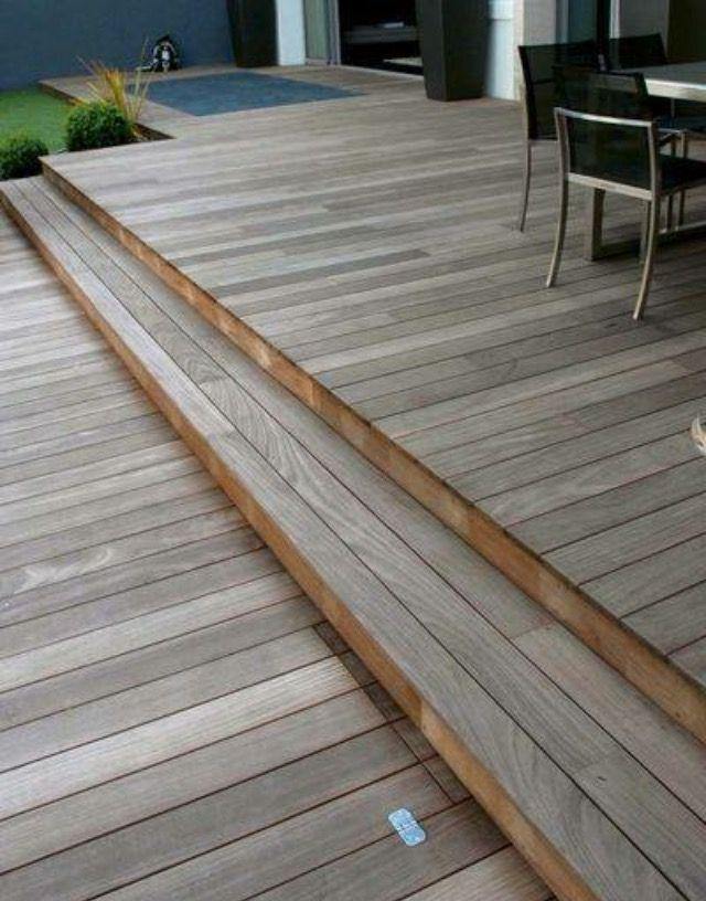 Pin by Ryan Wencl on Deck Ideas Pinterest Outdoor living - construction terrasse en bois sur parpaing
