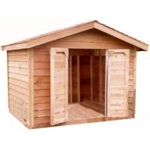 Select Cedar Shed12 Ft X 10 Ft Cedar Select Bevel Siding Shed Kit Ys1012s At The Home Depot Cedar Shed Shed Shed Kits