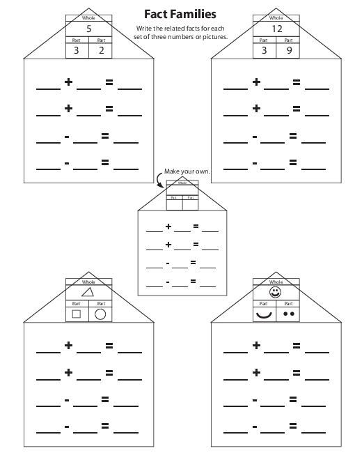 Subtraction Math Facts Worksheets Grade 2 - popflyboys