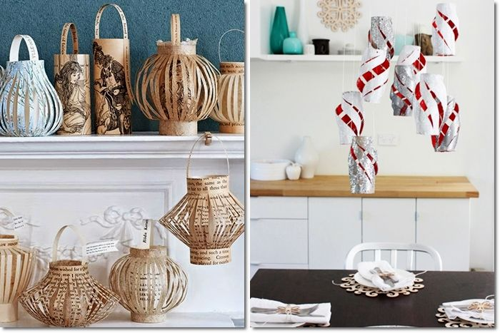 Rotoli Di Carta Igienica Riciclo : Come riciclare i rotoli di carta igienica lanterne e decorazioni