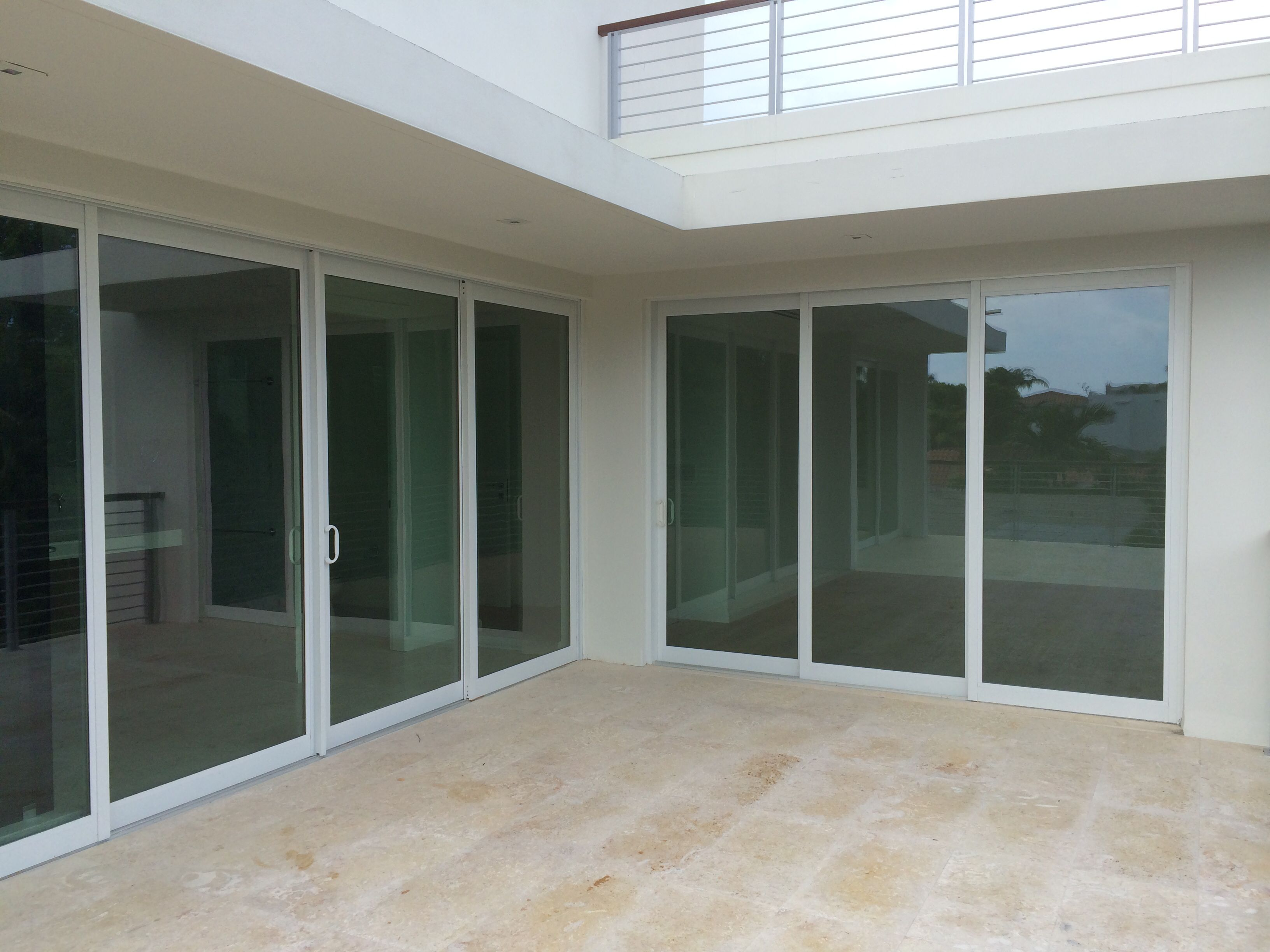 Sliding Glass Doors For Hurricane Protection Key Biscayne Florida