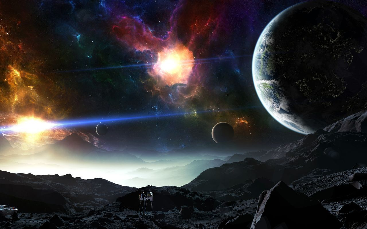 Wallpapers For Android Tablet 10 1 Space Art Wallpaper Planets Wallpaper Space Art