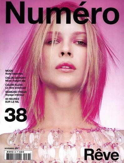 Numéro France 38 November 2002 - Erin Wasson