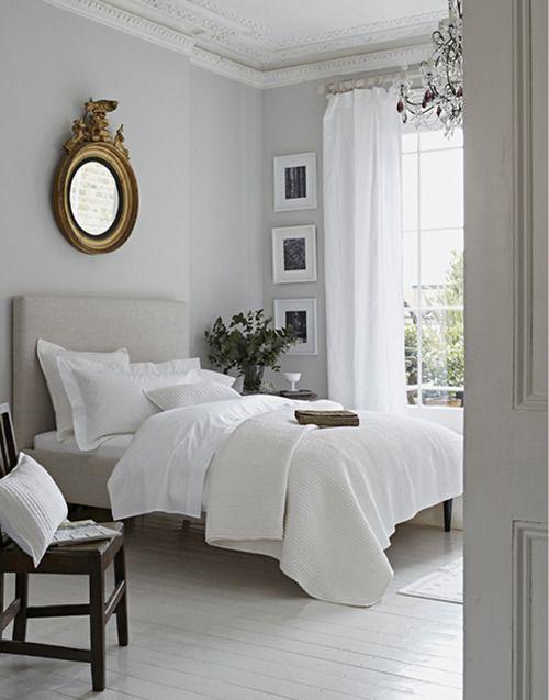 Épinglé par Wanda Turner sur White Pinterest Chambres, Chambre