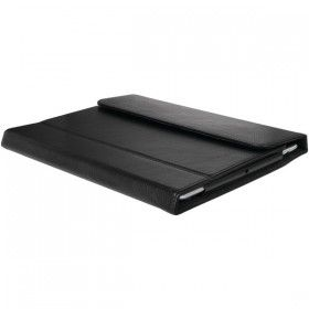 iPad® : IPAD W/RD LTHR PFOLIO BLK