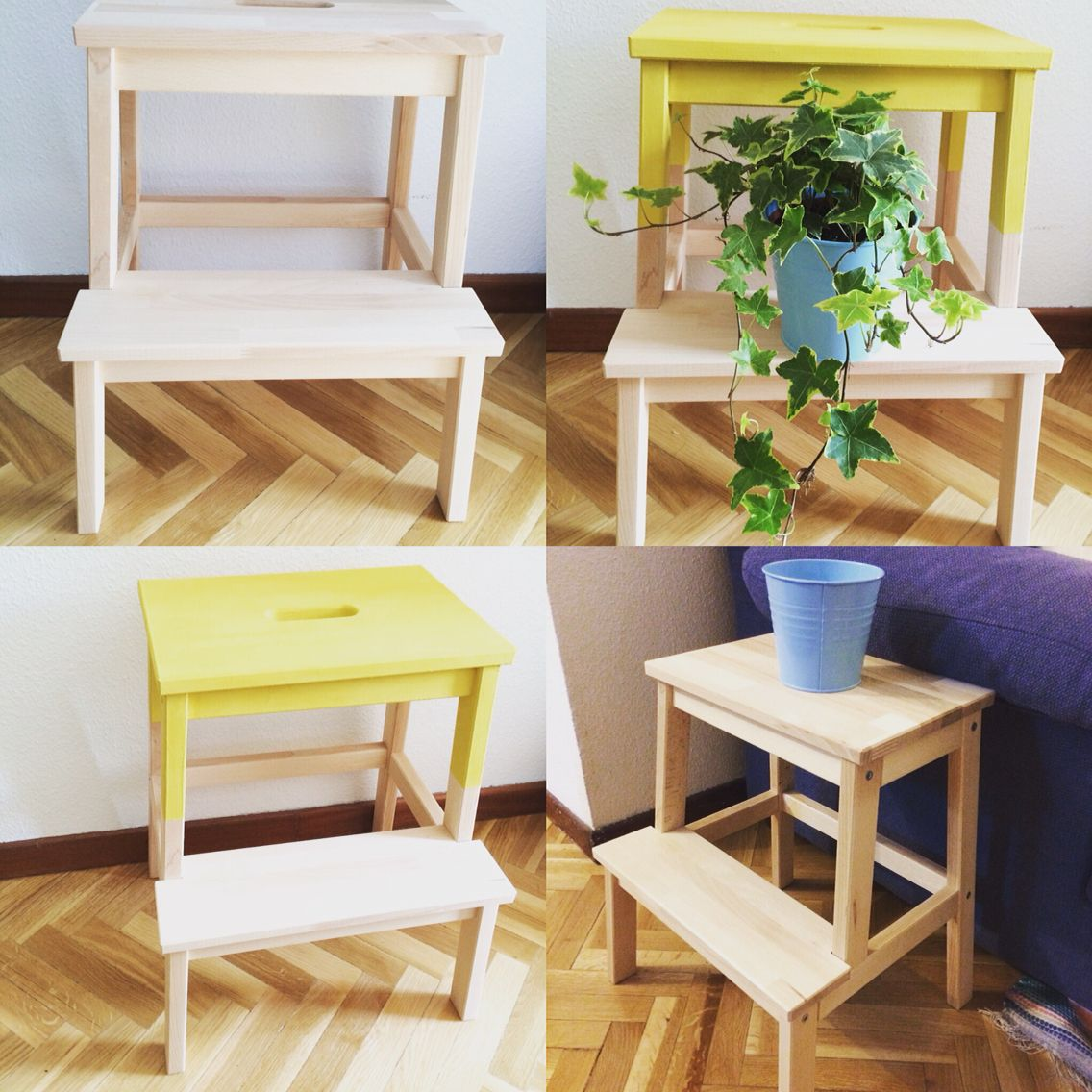 Ikea Bekvam step stool hack with Annie Sloan chalk paint in English Yellow & Ikea Bekvam step stool hack with Annie Sloan chalk paint in ... islam-shia.org