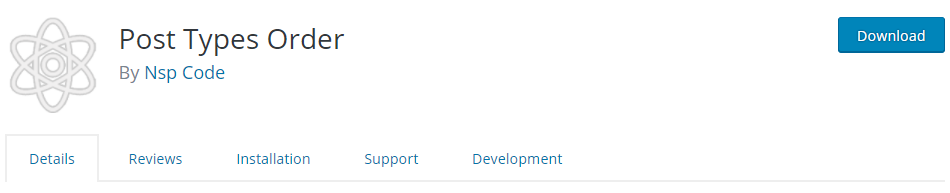 post order in WordPress
