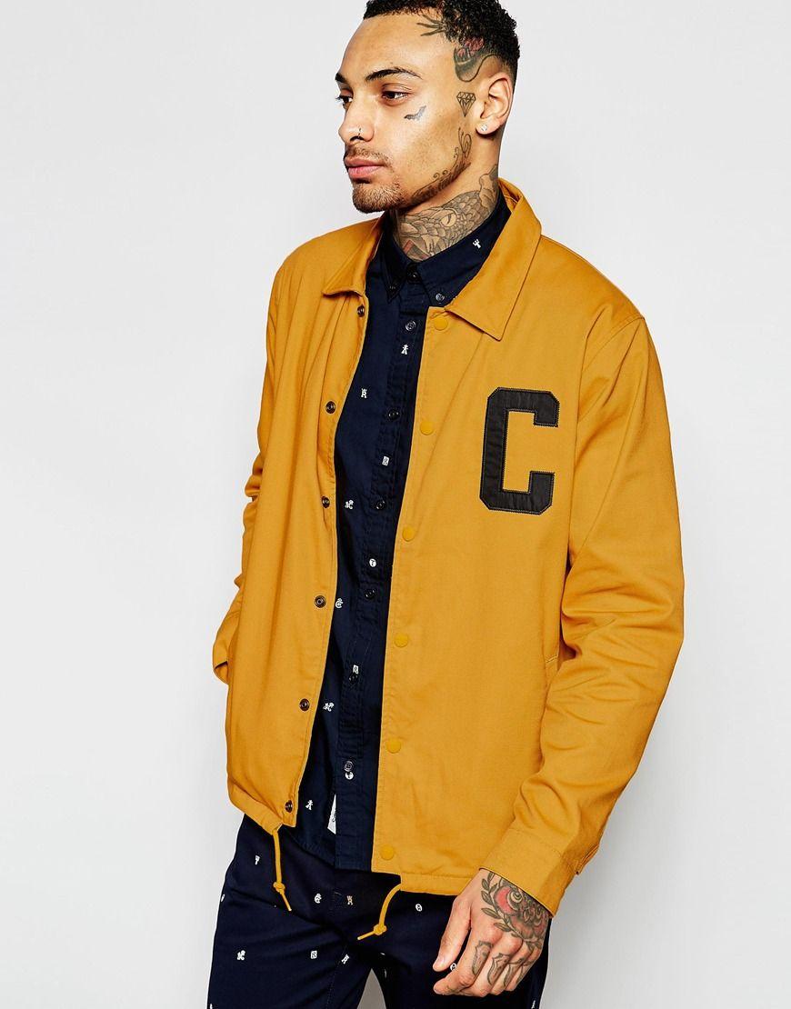 buy good huge discount best supplier Carhartt WIP Penn Coach Jacket | Carhartt jacket, Jackets ...