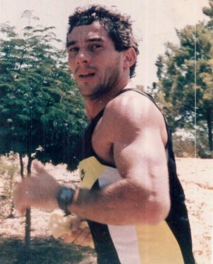 Ayrton Senna Training Ayrton Senna Hombres Hermosos