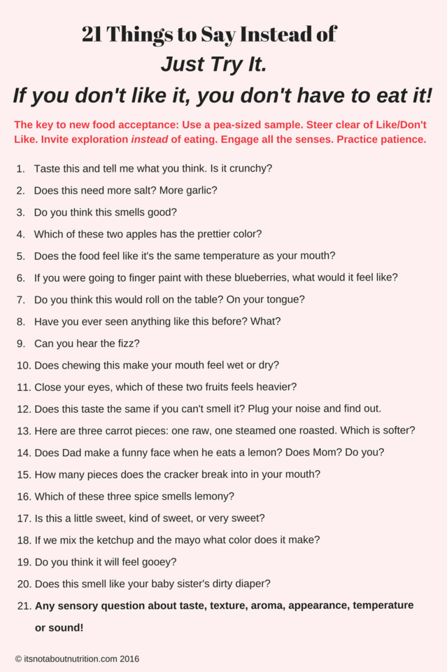 what to say in 21 questions