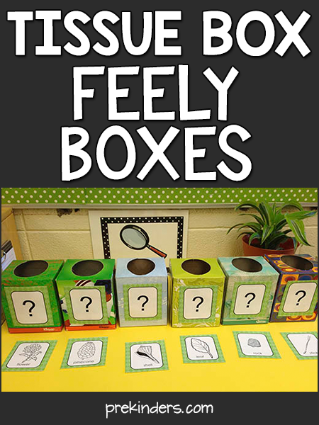 Teach with Trash: Tissue Box Science #preschool
