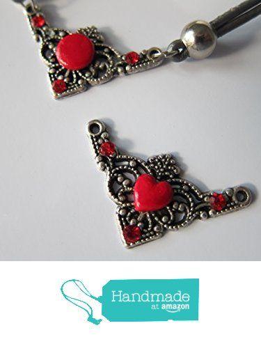 19,90€. Collar rojo como una reina, realizado a mano con corazón de porcelana y esmalte rojo, tipo gargantilla. Sólo lo hago a petición. de Jewellery Handmade Oscurarosa https://www.amazon.es/dp/B01JMDEXX0/ref=hnd_sw_r_pi_awdo_zDL5xb2W5PP95 #handmadeatamazon